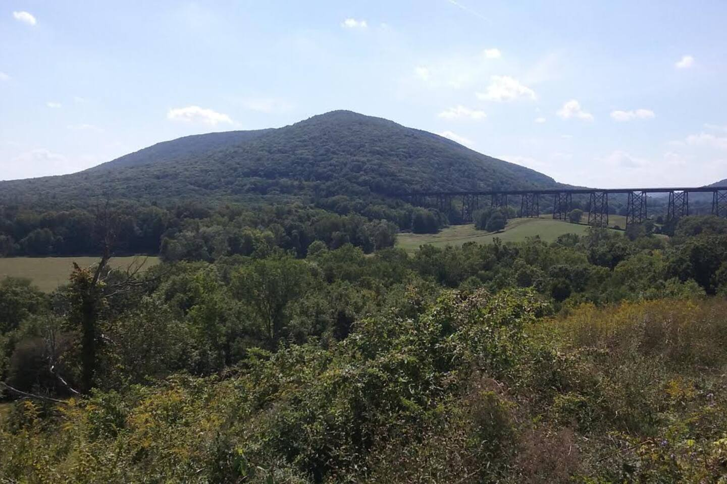 One block from Trestle View & Schunemunk Mountain with great hiking trails