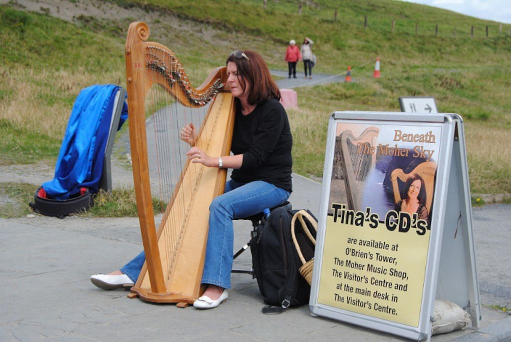Music at the Cliffs of Moher