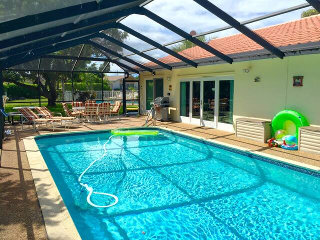 Wonderful House with Private Pool - Tamarac - House