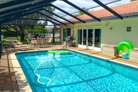 Wonderful House with Private Pool - Tamarac