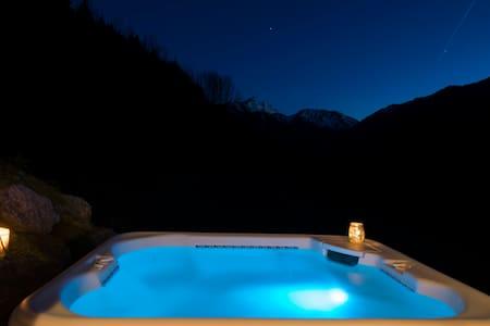 Luxurious mountain view en-suite - Saint-Jean-d'Aulps - Bed & Breakfast