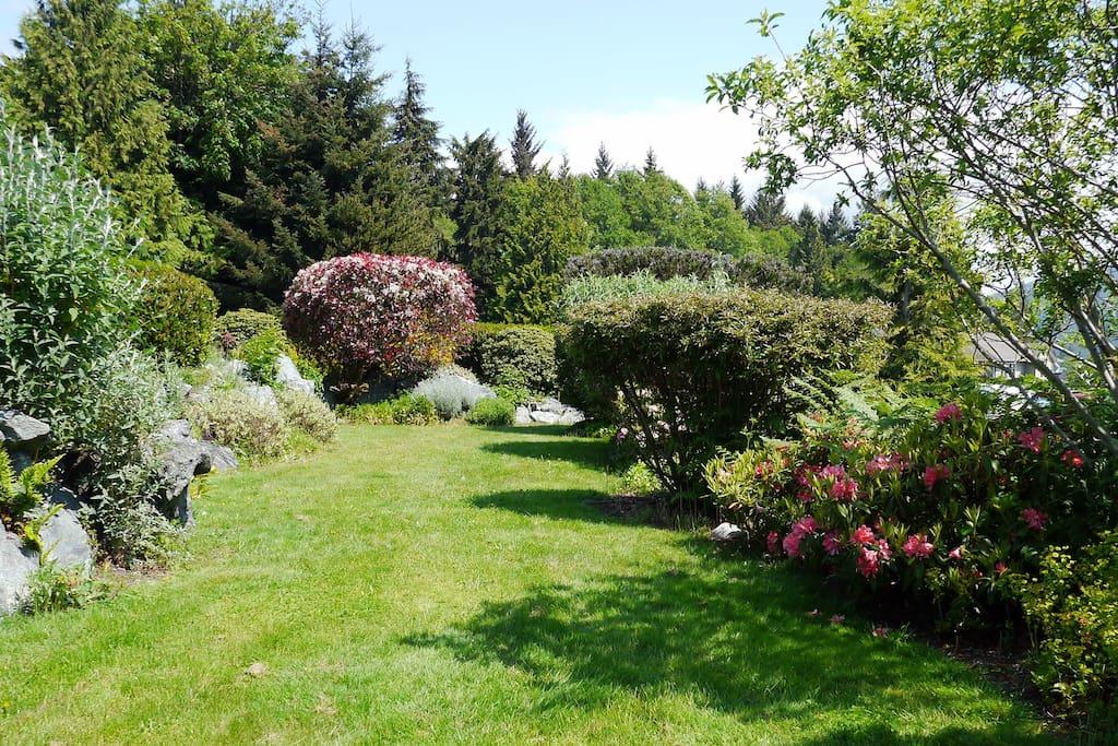 Landscaped Gardens.