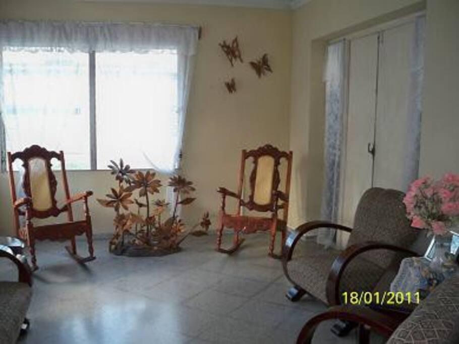 The living/family room