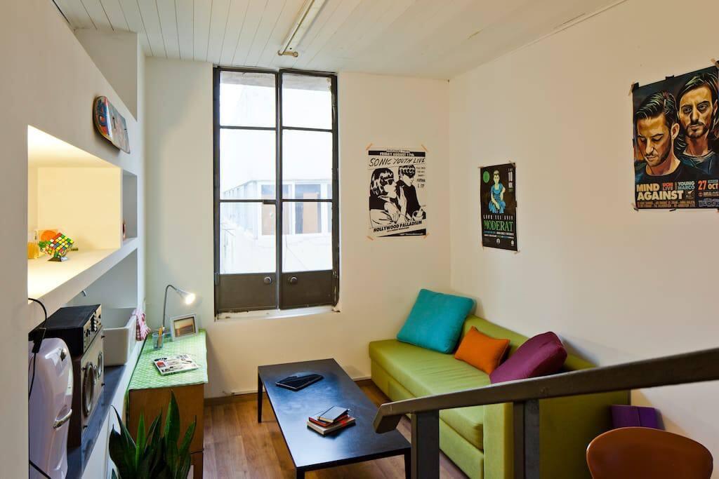 Studio in the trendy heart of Tel Aviv