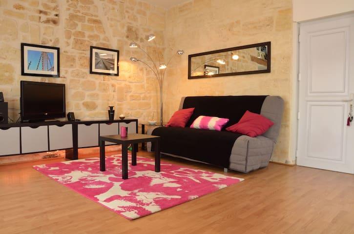 Loft rénové avec terrasse - Burdeos - Loft