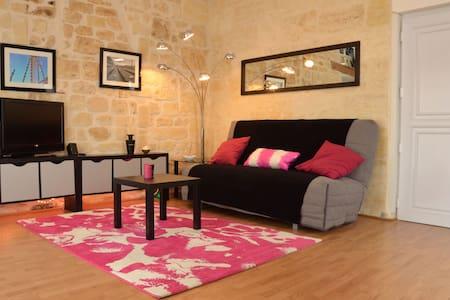 Loft rénové avec terrasse - Burdeos