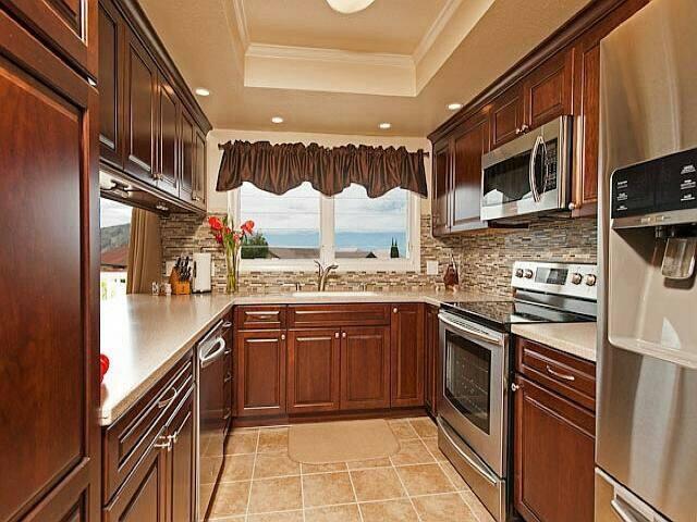 看海景的厨房