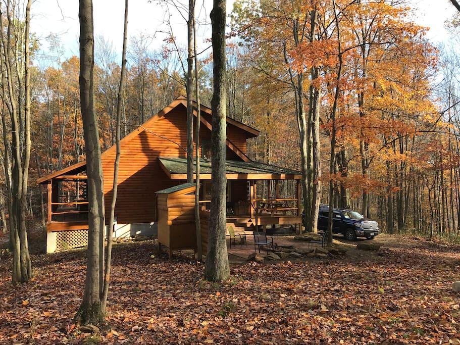 Frost Run Retreat Secluded Cabin Caba As En Alquiler En