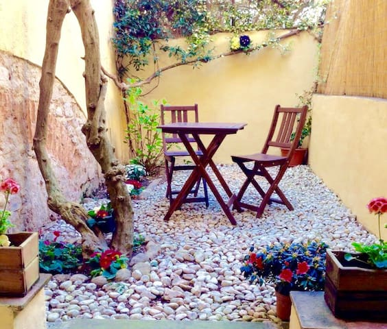 Il Glicine-apartment with small yard San Frediano