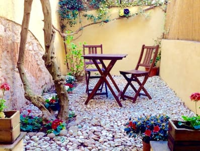 Il Glicine-apartment with small yard San Frediano - Florence - Appartement