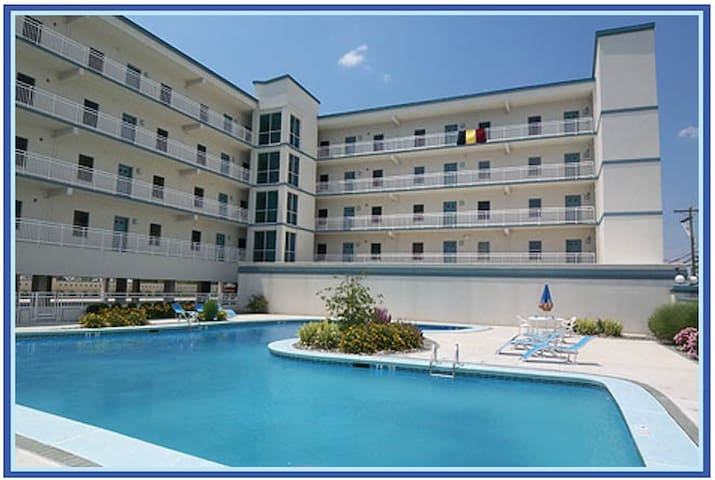 3 BDR Condo W/Heated Pool/Bay View - Wildwood - Kondominium