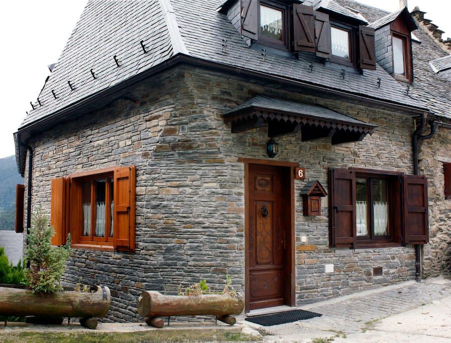 Valle de aran casa con encanto maisons louer mont catalogne espagne - Casas rurales valle de aran ...