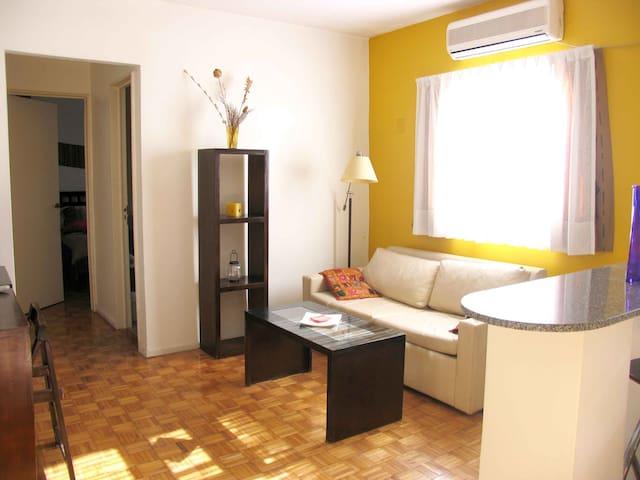 Luminoso depto en Palermo (1dorm) - Buenos Aires - Apartamento