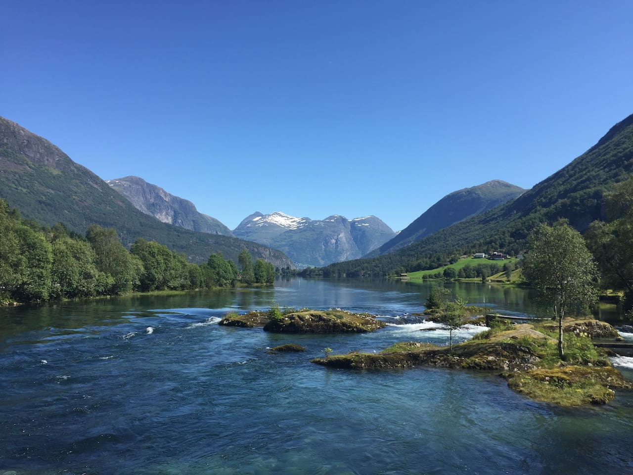 Lake Stryn, 10 km form the apartment