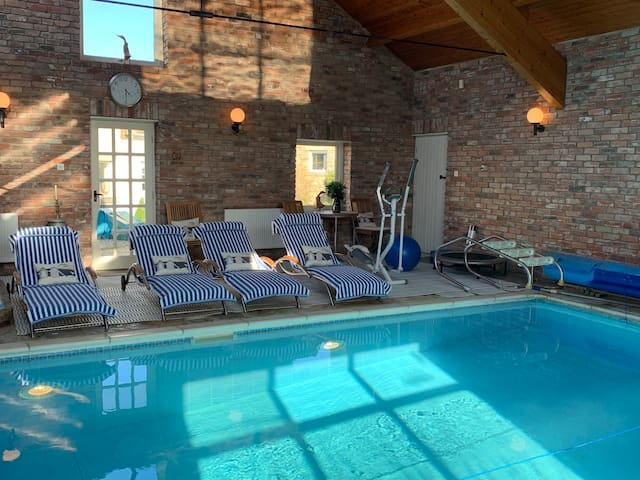 Two charming cottages, two hot-tubs & pool option
