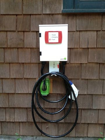 EV Charging Station free for guest use