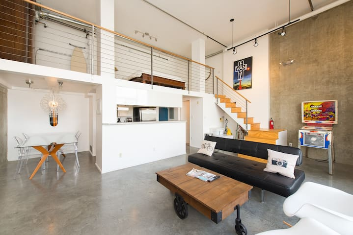 East Vancouver Two Level View Loft