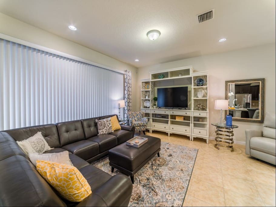 Entertainment Center, Couch, Furniture, Indoors, Room