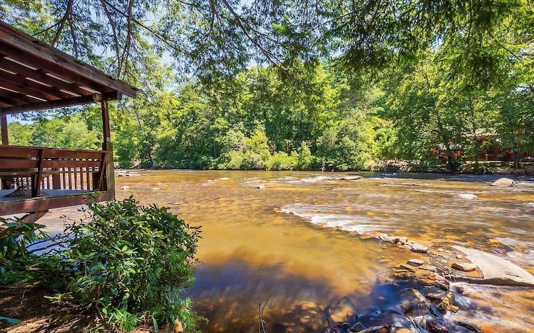Toccoa River Hemlock Hideaway