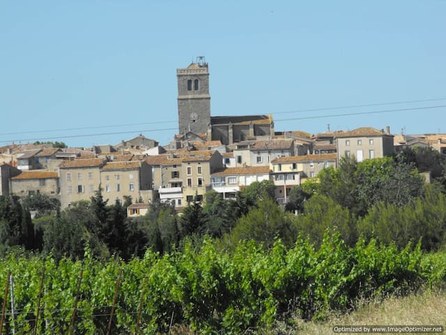 small village in south-west france - Azille