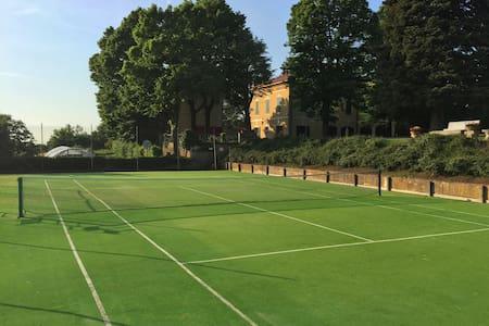 19th Century Villa w/ tennis&pool near Milano - Casteggio - 別荘