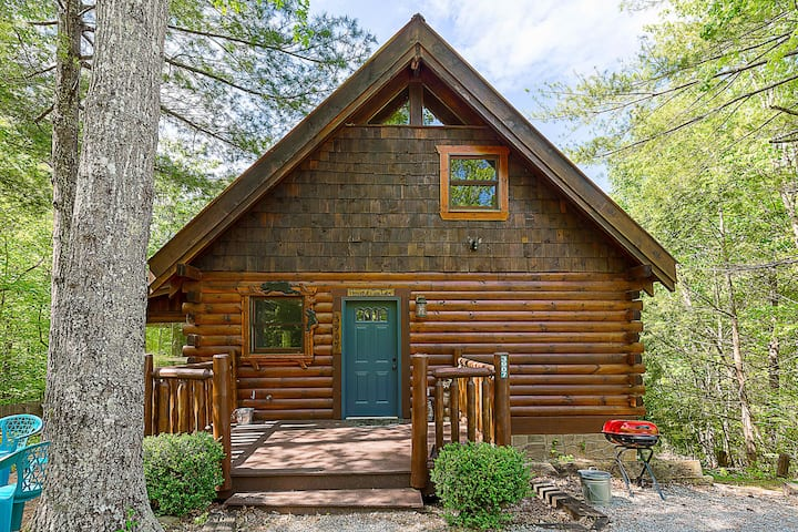 Nestled Inn: Secluded Cabin in the Mountains with Hot Tub, Fire Pit, and SEGA Gaming System!