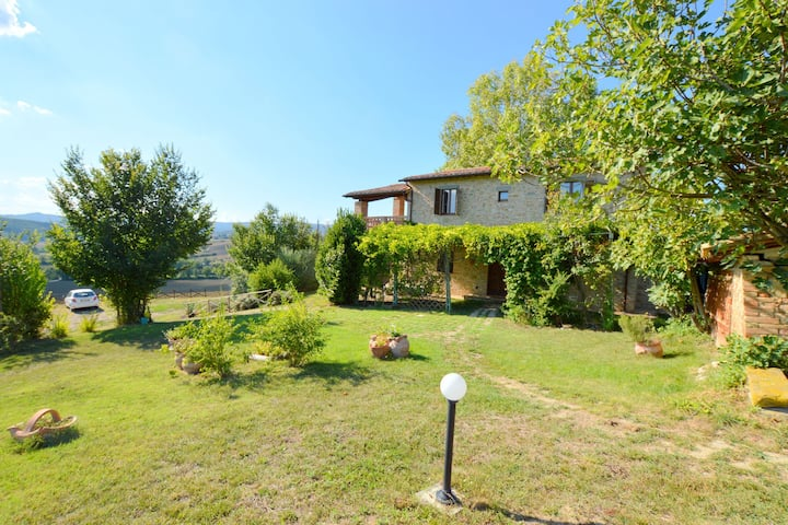 Well-kept holiday home in rustic style with large garden and private pool