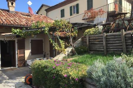 Stone beauty in famous Barolo wine region - Monforte d'Alba