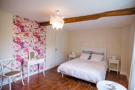 Moulin Bois Coûtant Chambre Pivoine - Vivonne