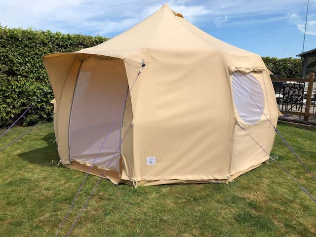 Luxury Bell Tent Hire (with everything you need)