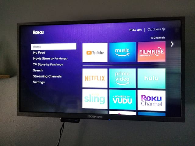 TV with Roku