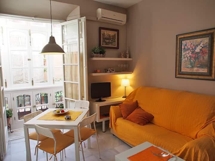 Apartamento 2 dormitorios con balco
