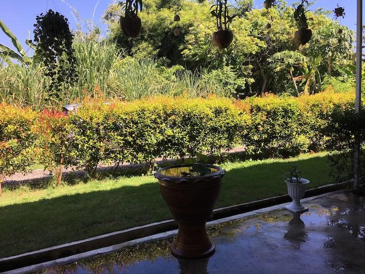 Idyllisches Apartment im grünen mit Terrasse