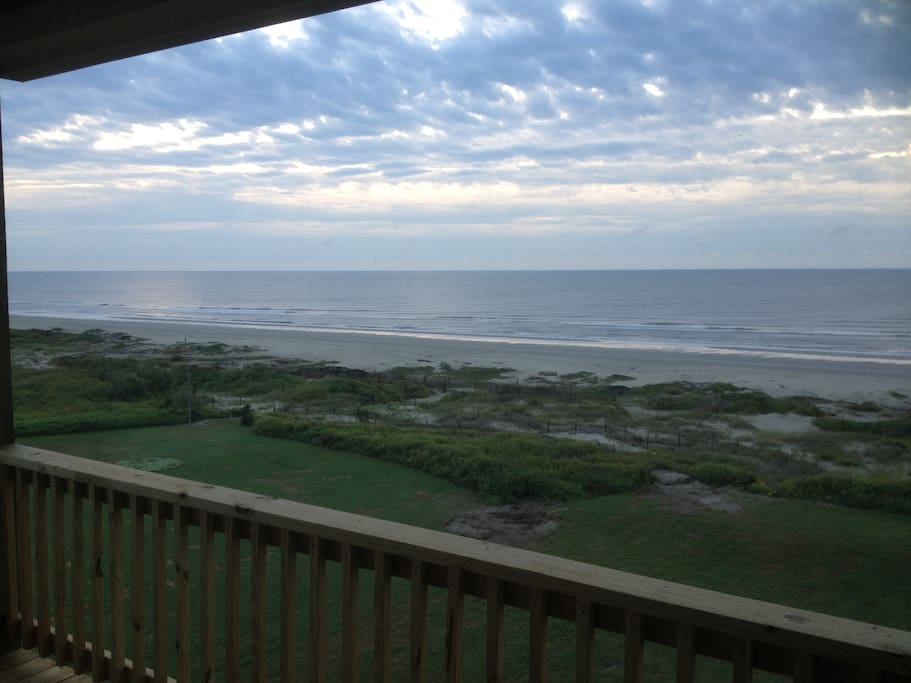 View of The Beach from One of The Four Beach Front Decks