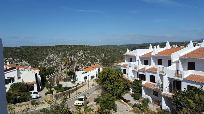 Apartment panoramic view over sea gulf Cala Porter - Cala en Porter - Apartmen