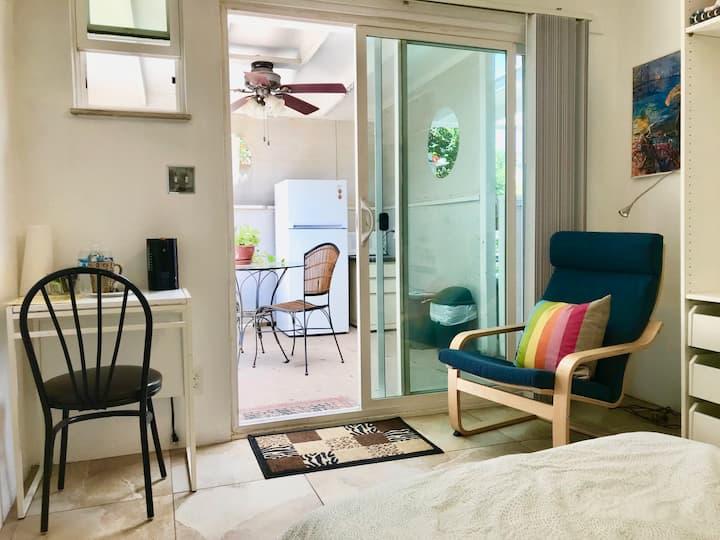 Cozy garden studio