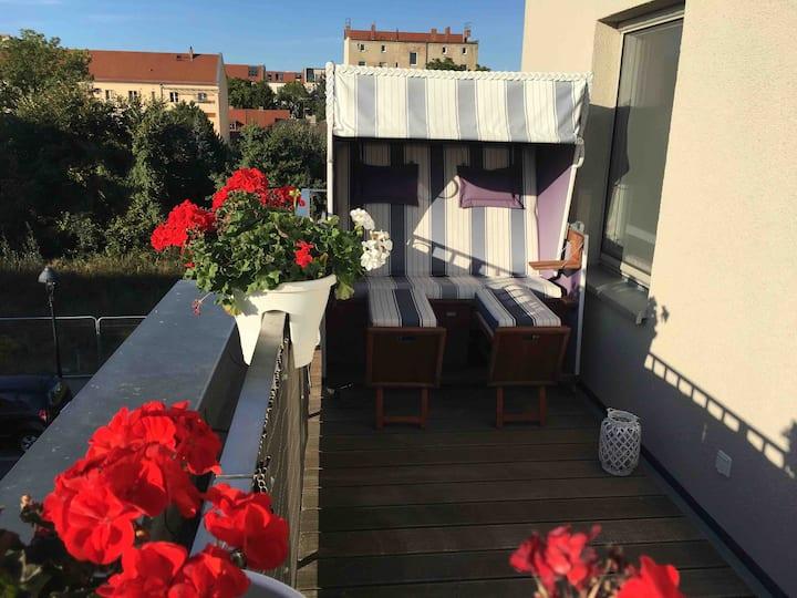 In Babelsberg ein gesamtes Dachgeschoss + Terrasse