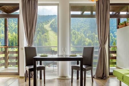 Azuga Studio - Cozy & Chic,  Lovely view-ski slope