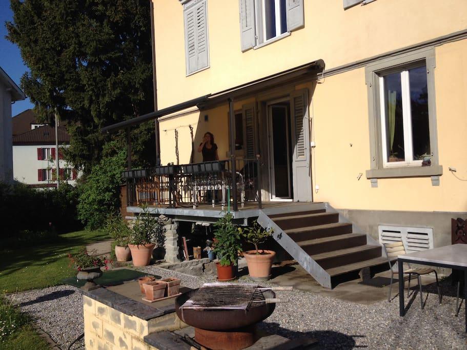 Gem tliche dachwohnung am bodensee apartments for rent for Bodensee apartment