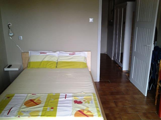 """ Elsa "" double room apartment with balcony - Agios Ioannis Mouresiou - Flat"