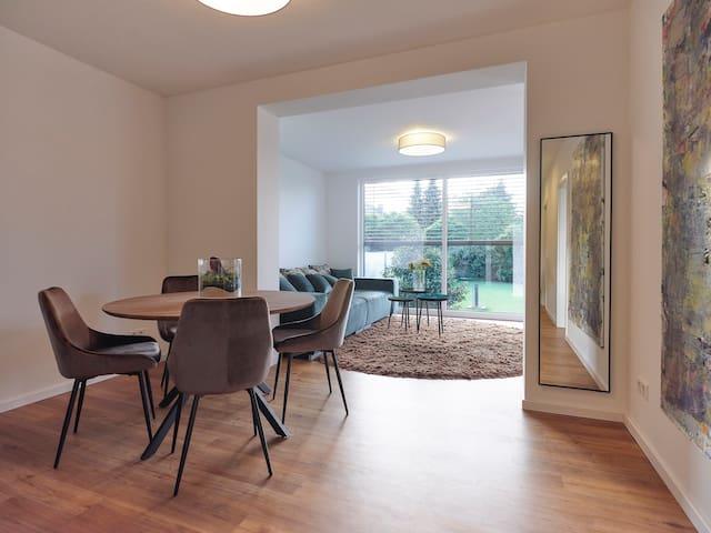 B26-Apartments / Garten-Suite mit 2 Schlafzimmern