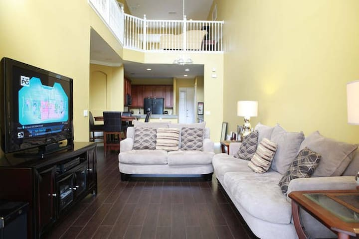 Relaxing Private room - 8 minutes from Airport - Orlando - Rumah