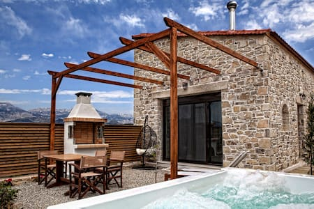 OLIVE villa Omicron pr. heated spa - Καμηλάρι - Villa