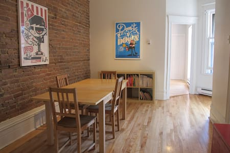 5-1/2 Plateau Mont Royal,2 bedrooms - Montreal - Apartment