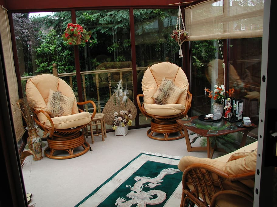 Conservatory for relaxing / reading