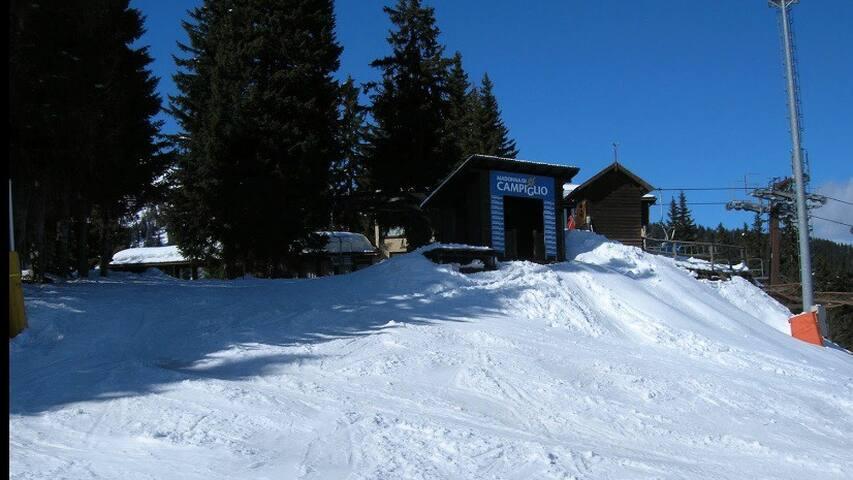 Sulle piste da sci