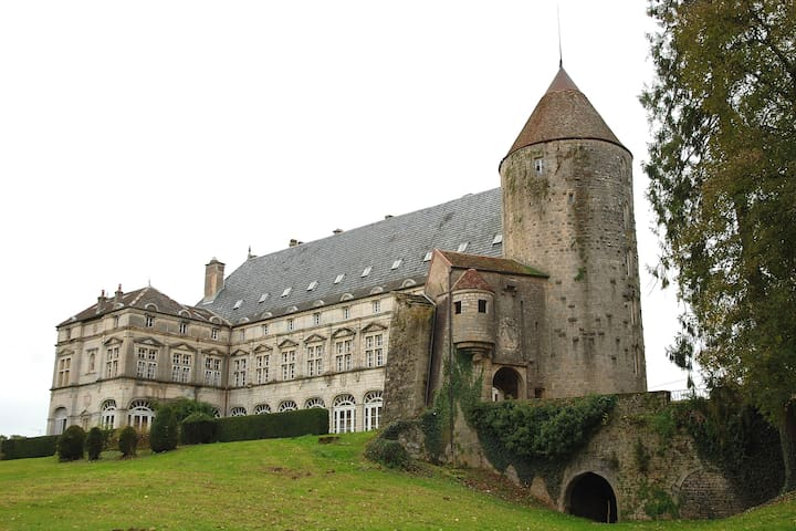 B&B Le Chateau de Frasne - Frasne-le-Château - Castelo