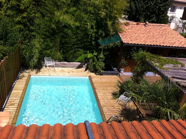 Chambre privée avec salle de bain - Mérignac - Casa