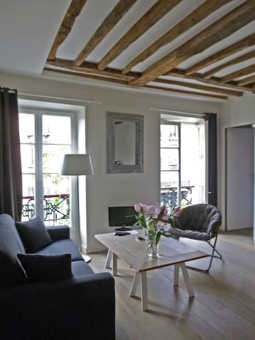 Charming apt  in le Haut Marais