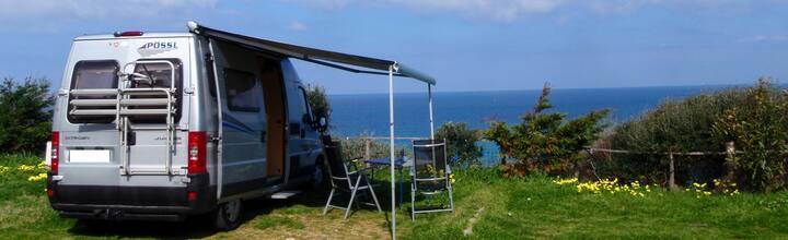 Wohnmobil auf Sardinien mit vielen Extras